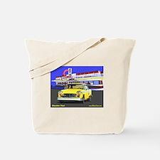 Checker Taxi Tote Bag