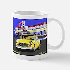 Checker Taxi Mug