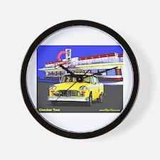 Checker Taxi Wall Clock