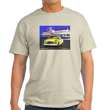 Checker Taxi Ash Grey T-Shirt