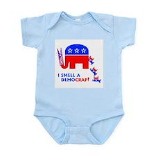 I Smell A Democrap -  Infant Creeper