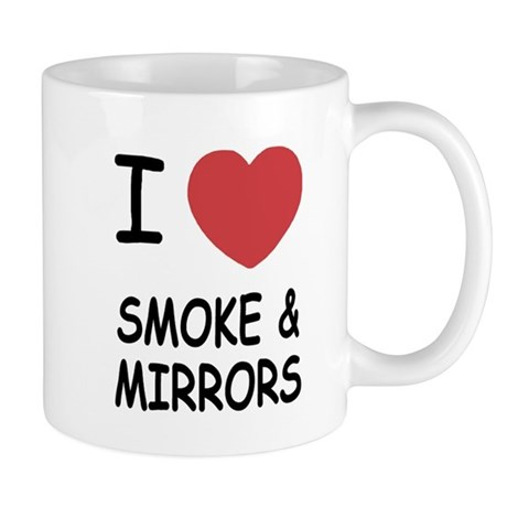 I heart smoke and mirrors Mug