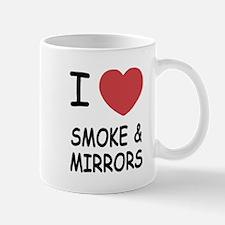 I heart smoke and mirrors Mug