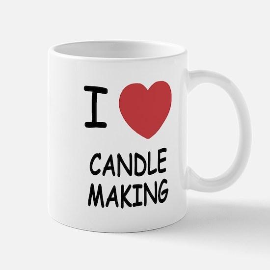 I heart candle making Mug