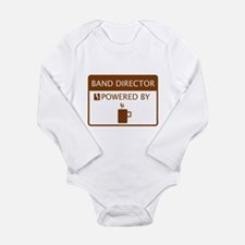 Band Director Powered by Coffee Long Sleeve Infant