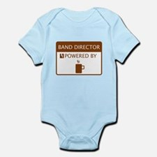 Band Director Powered by Coffee Infant Bodysuit