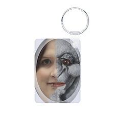 Half Gargoyle face Keychains