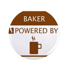 """Baker Powered by Coffee 3.5"""" Button"""