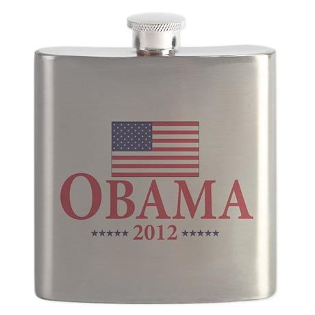 Barack Obama for president Flask