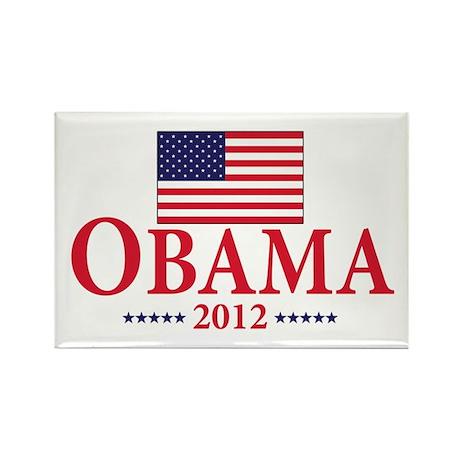 Barack Obama for president Rectangle Magnet (100 p