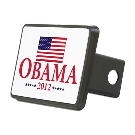Barack Obama for president Rectangular Hitch Cover