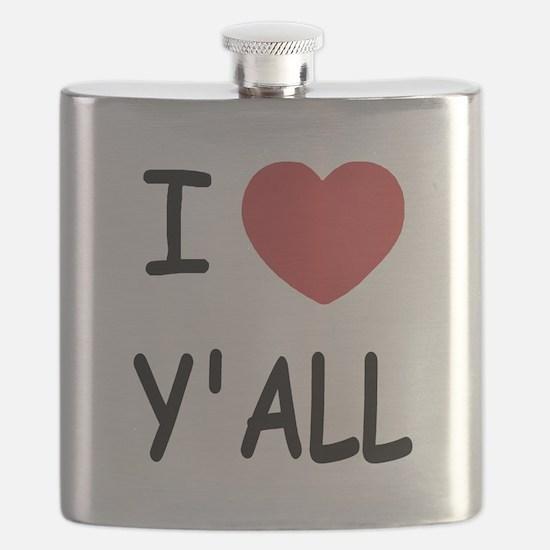 I heart yall Flask