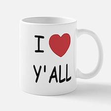I heart yall Mug