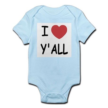 I heart yall Infant Bodysuit