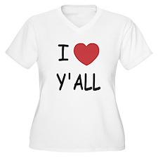 I heart yall T-Shirt