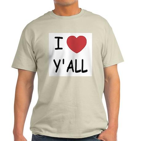 I heart yall Light T-Shirt