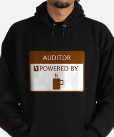 Auditor Powered by Coffee Hoodie (dark)