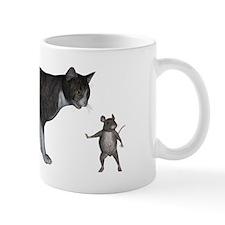 Talk To My Mouse Paw Mug