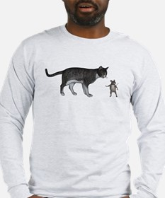 Talk To My Mouse Paw Long Sleeve T-Shirt