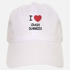I heart crash dummies Baseball Baseball Cap
