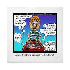 Jewish Kids Toys: Kvetch A Sketch Queen Duvet