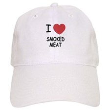 I heart smoked meat Baseball Cap