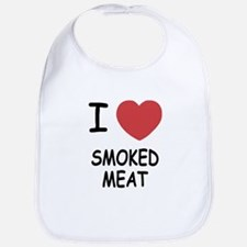 I heart smoked meat Bib