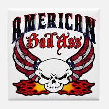 American Bad Ass Tile Coaster