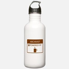 Archivist Powered by Coffee Water Bottle