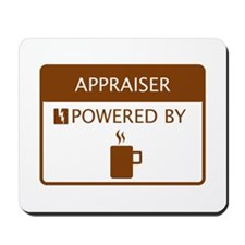Appraiser Powered by Coffee Mousepad