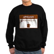 Appraiser Powered by Coffee Sweatshirt
