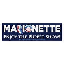 Marionette 2012 Bumper Sticker