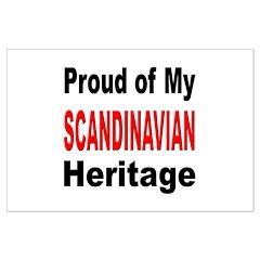 Proud Scandinavian Heritage Posters