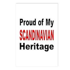 Proud Scandinavian Heritage Postcards (Package of