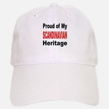 Proud Scandinavian Heritage Baseball Baseball Cap