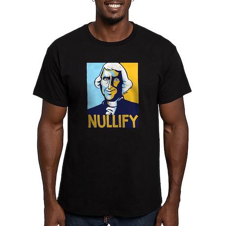 Nullify Men's Fitted T-Shirt (dark)