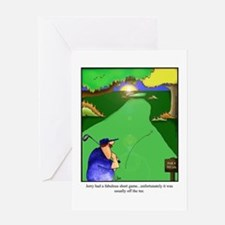 GOLF 023 Greeting Card