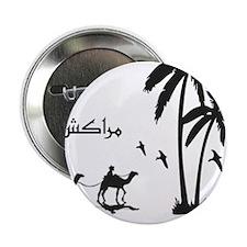 """Marrakech, Morocco 2.25"""" Button"""