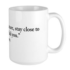 Frank Lloyd Wright nature quote Mug