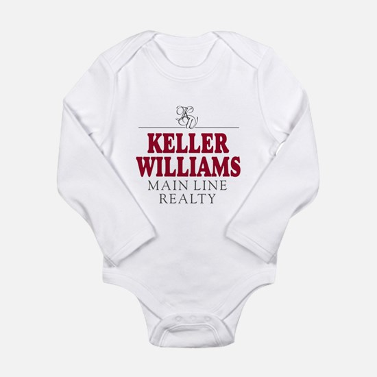 Keller Williams Mugs Long Sleeve Infant Bodysuit