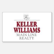 Keller Williams Mugs Decal