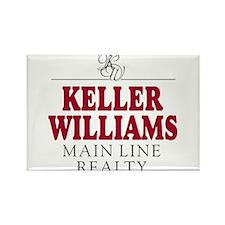 Keller Williams Mugs Rectangle Magnet