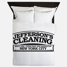 Jeffersons Cleaning Queen Duvet
