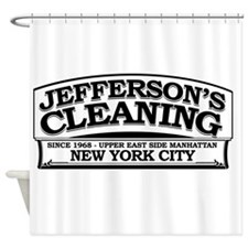 Jeffersons Cleaning Shower Curtain