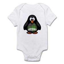Abercrombie Tartan Penguin Infant Bodysuit