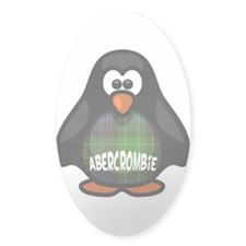 Abercrombie Tartan Penguin Decal