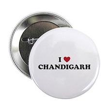 """I Love Chandigarh 2.25"""" Button"""