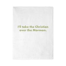 Christian over Mormon Twin Duvet