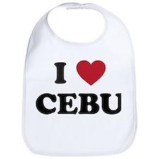 I Love Cebu Bib
