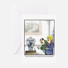 GOLF 073 Greeting Cards (Pk of 20)